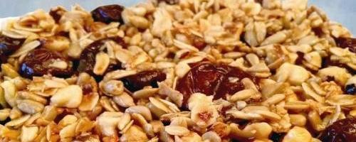 Speedy Quick Microwave Granola Bar