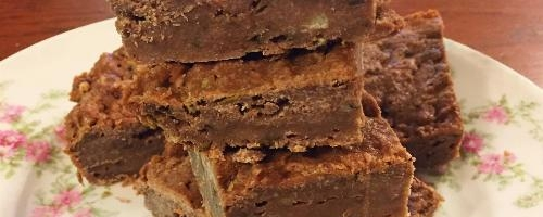 Chocolate Zucchini Cake Bars