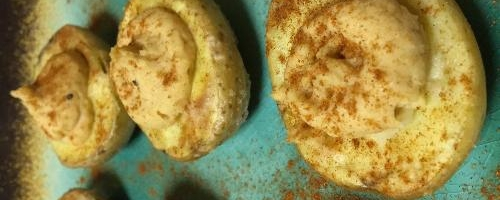 Vegan Deviled Potato Bites