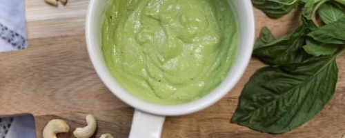 Creamy Vegan Pesto Sauce