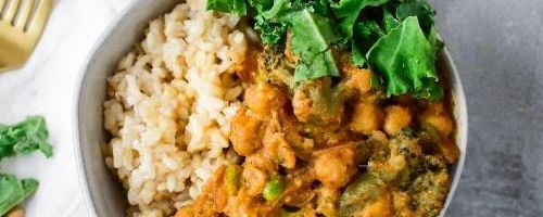 Coconut Milk Chickpea Curry