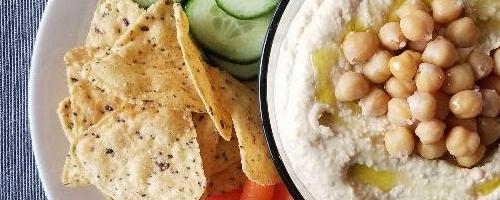 Basic Creamy Hummus