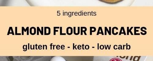 No Fail Almond Flour Pancakes