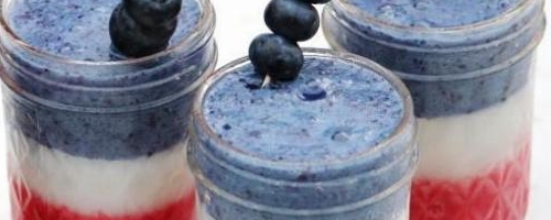 Red, White, And Blue Smoothie