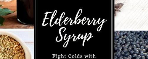 Aronia Elderberry Syrup
