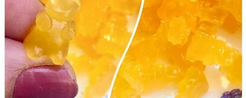 Homemade Orange Mango Gummy Bears