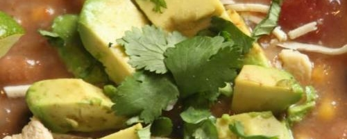 Thick & Chunky Vegan Tortilla Soup