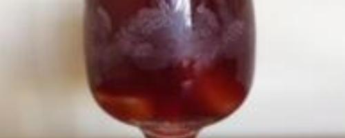 Sangria Made With Ningxa Red
