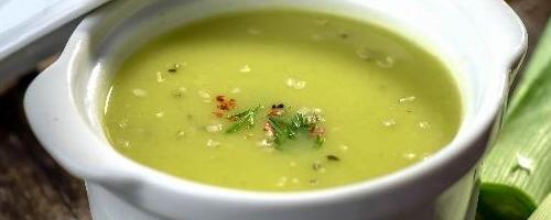 Quick & Easy Leek Soup