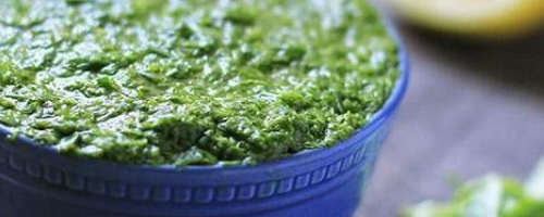 Basic Vegan Pesto With Garlic Oil