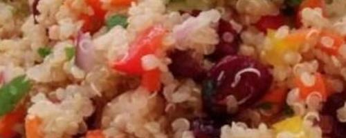 Cranberry Cilantro & Quinoa Salad