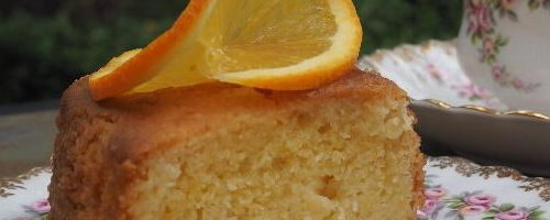 Persian Orange And Almond Cake