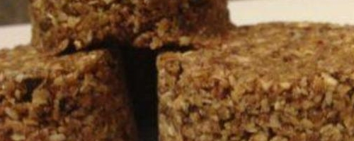 Oatmeal Coconut Energy Bar