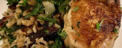 Coriander Coconut Chicken And Rice