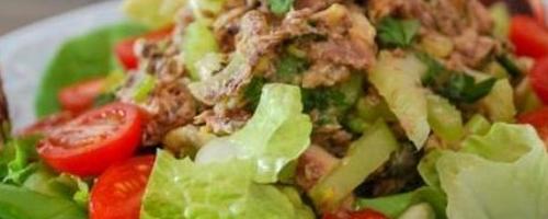 Lemon Dijon Sardine Salad