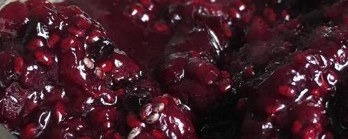 Blackberry & Cherry Chia Jam