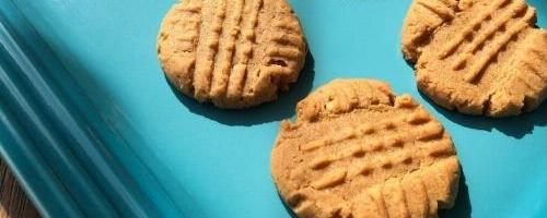 Flourless Keto Peanut Butter Cookies