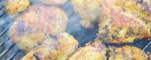 Grilled Chicken with Turmeric Recipe