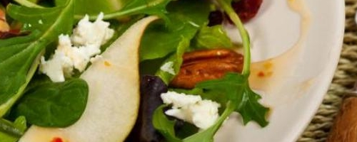 Pear And Avocado Salad With Candied Pecans