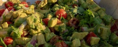 Avocado And Tomato Summer Salad