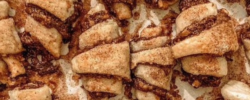 Chocolate Apricot Rugelach