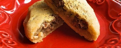Paleo Venison-stuffed Biscuits