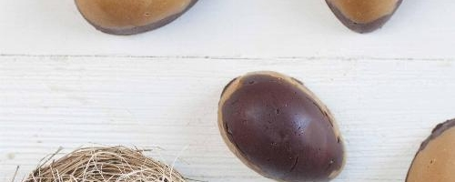 Healthy Chocolate Peanut Butter Eggs