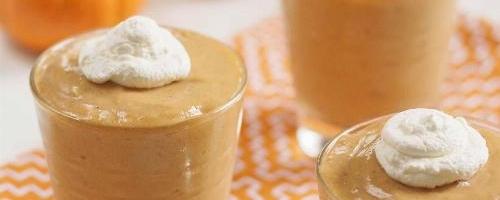 Homemade Pumpkin Pudding