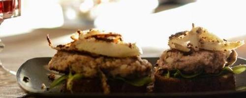 Herbed Turkey Burgers & Crispy Onions