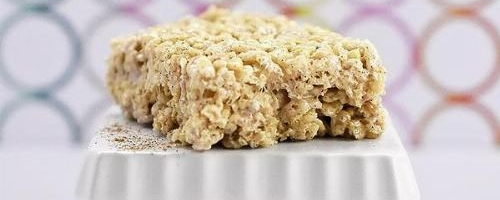 Chai Rice Krispy Treats