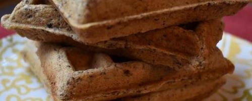 Flax Freezer Waffles