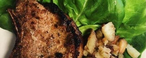 Easy Spiced Pork Chops