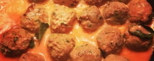 Thai Turkey Zucchini Meatballs