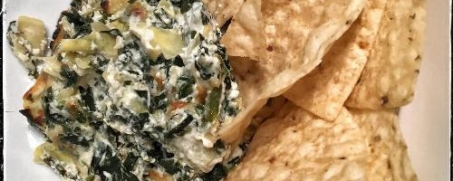 Spinach And Artichoke Dip, Lightened Up
