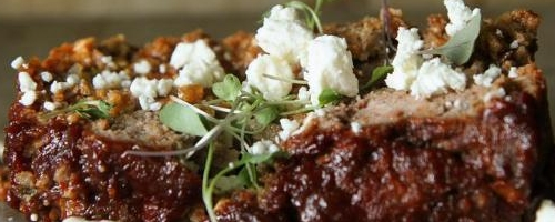 Paleo Lamb Meatloaf