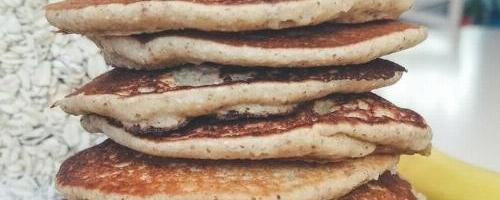 Oatmeal Banana Blender Pancakes