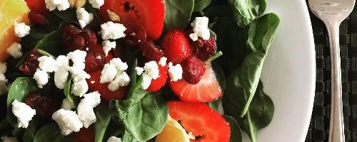 Spinach Summer Salad