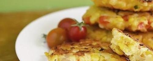 Roasted Corn Cakes