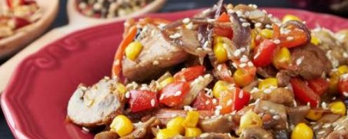 Slow Cooker Steak Fajita Bowl