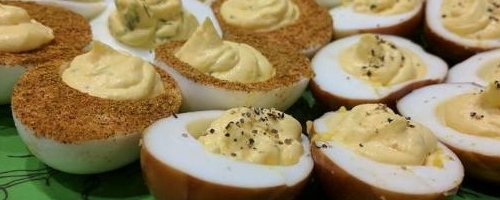 Deviled Eggs - Four Ways