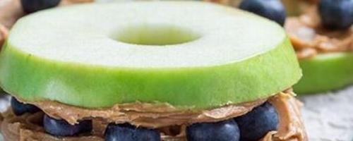 Apple Wheels W/ Peanut Butter