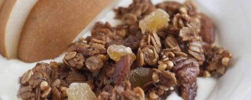 Homemade Ginger Granola