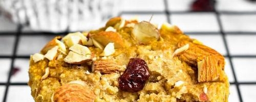 Cranberry Almond Breakfast Muffins