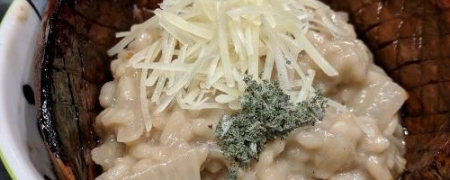 Sage Mushroom Risotto