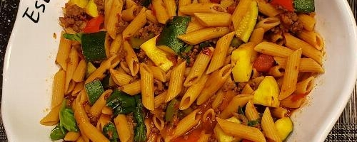 Protein Penne Pasta With Vegetables