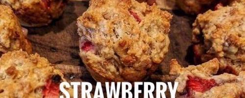 Strawberry And Cream Cheese Muffins