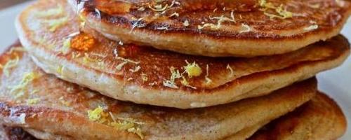Lemon And Cinnamon Pancakes