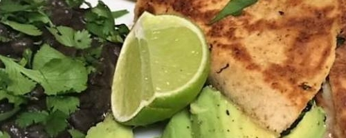 Chicken & Garden Vegetable Quesadilla