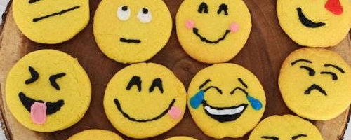 Emoji Lemon Sugar Cookies