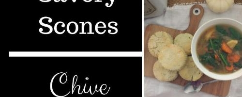 Savory Onion Chive Scones